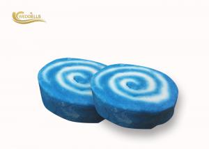 China Colorful Custom Bubble Bath Bar Cake Shaped solid bubble bar Round Shape on sale