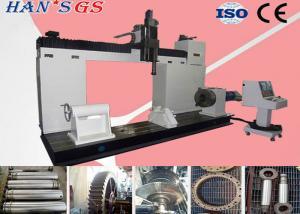 China CNC laser metal cladding machine with German LASERLINE fiber coupled laser diode on sale