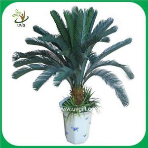 China UVG PLT07 bonsai fake plants with plastic cycas revoluta tree for office decoration on sale