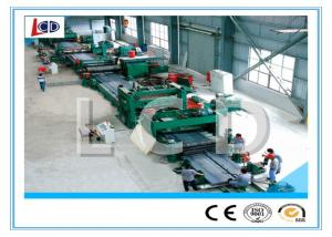 China Longitudinal Sheet Metal Slitter Machine Automatic Adjustable Recoiler Width on sale
