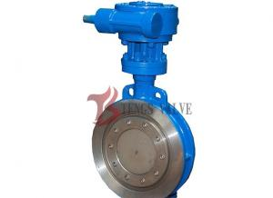 China Wafer Type High Performance Butterfly Valve Seal Ring Blue Color 2 - 60 Inch on sale