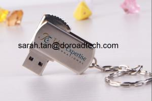 China Metal Swivel USB Flash Drives, Metal USB Flash Disks, Metal Memory Sticks on sale