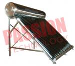 200L Economical Vacuum Tube Solar Water Heater System Compact Structure