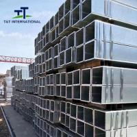 China 1020 Galvanized Steel Square Tubing Uniformed Structure ERW Technique on sale