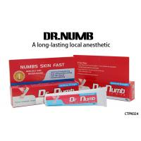 Dr. Numb Gel External Use Strongest Tattoo Numbing Cream 5% Lidocaine