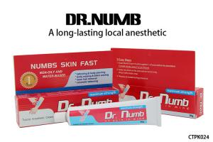 China Dr. Numb Gel External Use Strongest Tattoo Numbing Cream 5% Lidocaine on sale