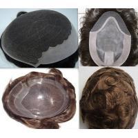 Fashion remy hair toupee/men