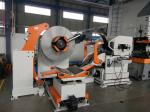 0.3-4.5mm thickness and 1300 mm width3 In 1 medium Coil Feeding Line cooperated with Punching