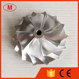 China HX50 7+7 blades 71.00/99.01mm high performance turbo Billet/milling/aluminum 2618 compressor wheel on sale