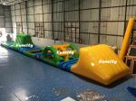China Swimming Pool Kids Inflatable Water Toys Green / Yellow 16.5 * 2 m 3 Years Warranty wholesale