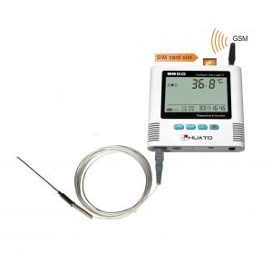 Quality PT100 GSM Temperature Monitor Data Logger With Calibration Certification for sale