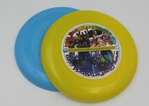 China Dog Toy PP Plastic Frisbee For Promotion , Round Shaped 23cm Flying Disk on sale