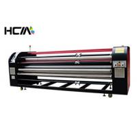 Big Industrial sublimation printing machine / roller heat press machine for bed sheets