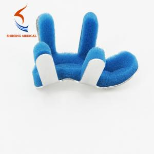 China High quality aluminium alloy white and blue finger splint for sale on sale