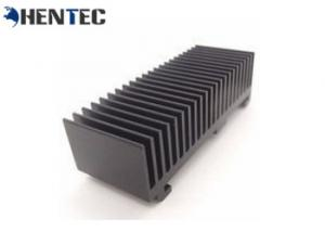 China Black Anodised Aluminum Heatsink Extrusion Profiles ISO Quality Assurance on sale