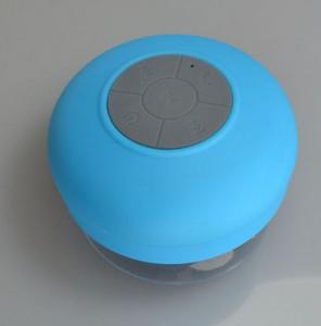 China Waterproof Rechargeable Portable Bluetooth Speakers Suction Cup Design on sale