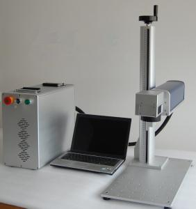 China Portable Fiber Laser Marking Machine For Hardware Tools / Jewelry Rings on sale