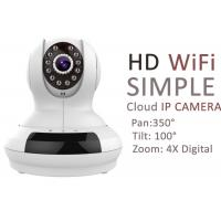 Pan Tilt 4X Digital Zoom Network Cloud IP Camera Monitoring With 32G SD Card Slot