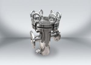 China Stainless Liquid Filter Housings With Single Bag Customized Size 1 Year Warranty on sale