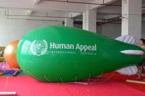 China flying blimps inflatable advertising/helium flying blimps on sale