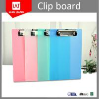 China China manufacturer cheap customized design office stationery OEM plastic A4 clip board on sale