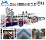uv protected polycarbonate pc solid/embossed sheet machinery