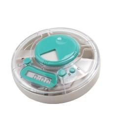 China Brand new pill box timer HE-0055 with lIquid crystal display with buzzer on sale