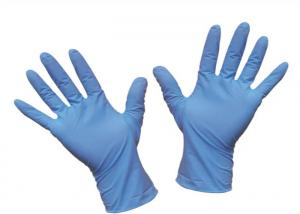 China Anti Bacterial Disposable Nitrile Gloves Examination Medical Heavy Duty Surgical on sale