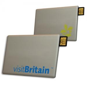 China Metal Slide USB Credit Card on sale