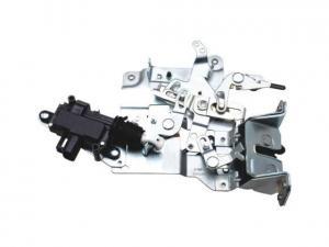 China Plastic White Door Latch Mechanism , Glass Fibre Automatic Car Door Locks on sale