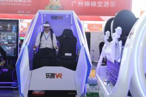 China Location base virtual reality cinema with bule&white color/small VR egg chair for the shopping mall on sale