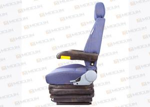 China Folding Komatsu Air Suspension Seats , Digger Custom Seats For Heavy Duty Equipment Parts on sale