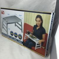 Portable Plastic Folding Tray Tables , ECO Friendly PP Small Folding Table