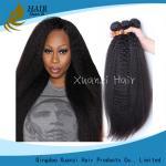 Cabelo humano humano das extensões 100% do cabelo do Virgin reto perverso peruano nenhum derramamento