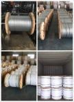 1/4,9/32,3/8,7/16,1/2,9/16,5/8 Galvanized Steel Wire Strand for Cable/guy wire/stay wire/messenger/ACSR Conductor