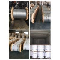 China 1/4,9/32,3/8,7/16,1/2,9/16,5/8 Galvanized Steel Wire Strand for Cable/guy wire/stay wire/messenger/ACSR Conductor on sale