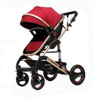 China Factory Wholesale High-End New style and Luxury Aluminum Alloy Baby Stroller,Can Sit and Lie Baby Pram, on sale