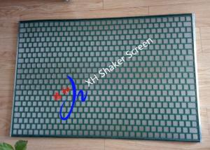 China FLC 48-30 / 2000 PWP Shale Shaker Screen for Solid Control / Desander Hookstrip Type on sale