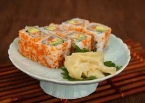 China Rich Flavor Seasoned Sushi Pickled Young Ginger White / Pink For Japanese Cuisine on sale