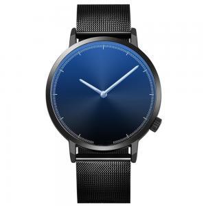 China Alloy Quartz Wrist Watch, Customized design Mesh strap wrist watches for Men Stainless Steel Minimalist Wristwatch on sale