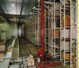 China Carbon Steel Heavy Duty Warehouse Shelving , Automated Storage And Retrieval System on sale