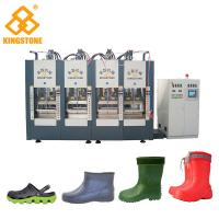 China 2/4/6 Stations Plastic Shoes Making Machine For EVA Slipper Sandals / Foam Molding Type with 300-400 pairs/ hour on sale