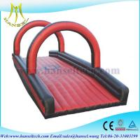 China Hansel High Quality Inflatable fighting platform for adults in playground on sale