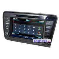 China 8 Car Stereo GPS Navigation Headunit for Skoda Octavia Car Stereo DVD Player on sale