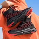Mens New Design Hot Sale  woven coconut shoes high-top Sport Shoes