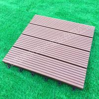Wood-Plastic Composite Flooring Technics and Engineered Flooring Type eco wpc deck tiles