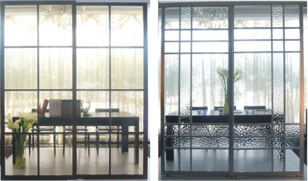 Partition Aluminum Sliding Doors For Living Room, Durable