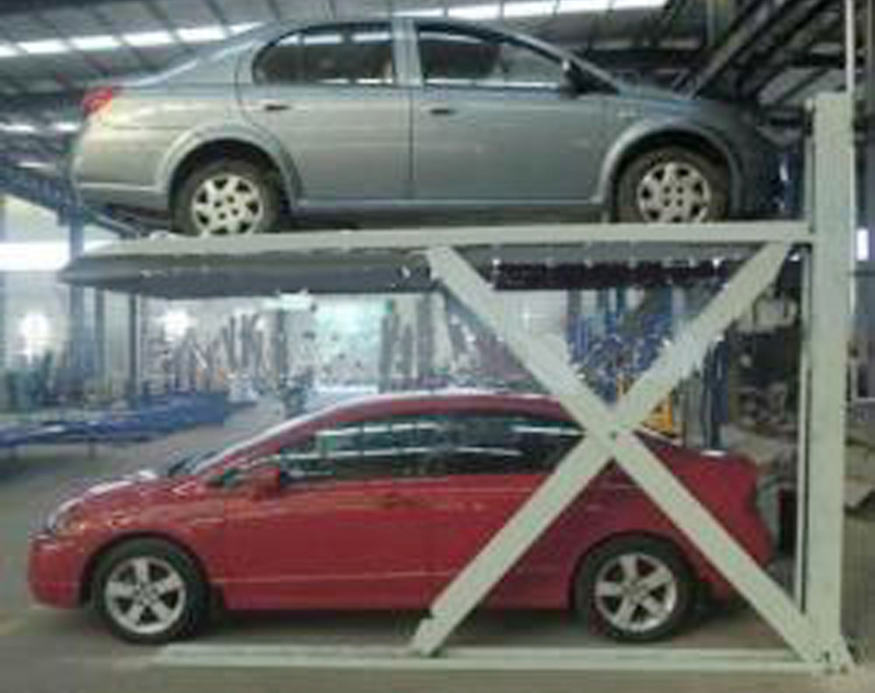 Scissor Lift 2 Post Parking Vertical Car Storage Park Stacker For Manufacturer From China 101925138