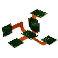 Professional 8 Layer Rigid Flexible PCB / Multilayer Printed Board Aluminium Material  Design Customized Fast Delivery