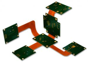 China Professional 8 Layer Rigid Flex PCB/Multilayer Printed Board Design Customized From China on sale